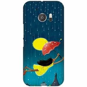 PrintlandDesignerHard Plastic Back Cover for HTC 10 -Multicolor