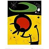Reproduction d'art 'Vuelo De Pajaros', de Joan Miró, Taille: 25 x 30 cm