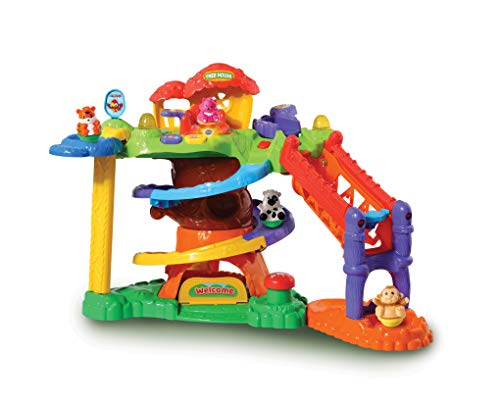 VTech ZoomiZoos Tree House Interactive Farm Animal Baby Play Set, Educational Zoo & Farm Toys for Babies to Learn Animals, Sounds & Numbers, Suitable for Boys & Girls 1, 2, 3, 4 & 5 Year Olds