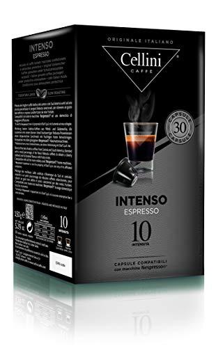 Cellini ESPRESSO INTENSO  (30 Kapseln à 5 g), 1er Pack (1 x 150 g)