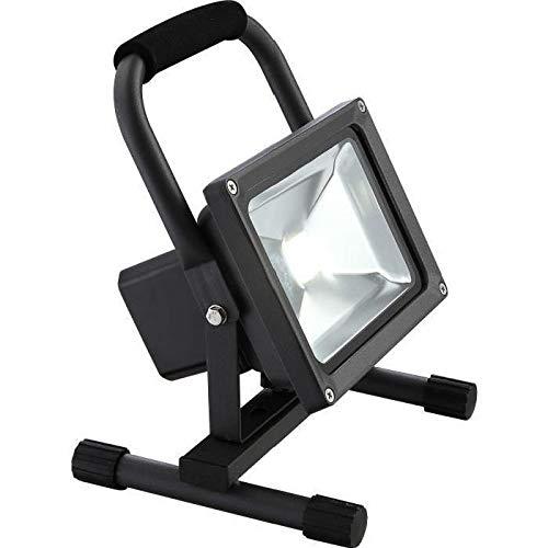 Spot extérieur LED luminaire éclairage lampe DEL aluminium argentin noir jardin terrasse IP44