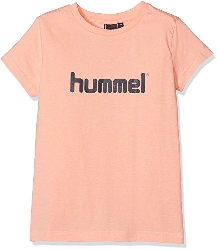 Peach Mädchen-shirt (hummel Mädchen Veni SS Tee SS17 T-Shirt, Peach Nectar, 152)