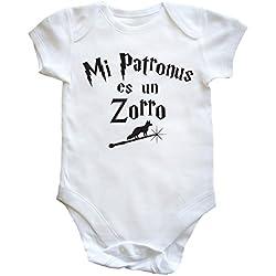 HippoWarehouse Mi Patronus es un Zorro body bodys pijama niños niñas unisex