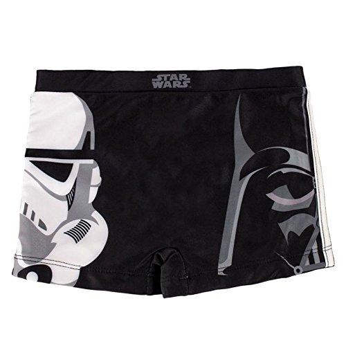 Costume da bagno da bambini, pantaloncini, shorts, con motivo STAR WARS (4 anni)