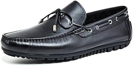 Business Casual Zapatos De Cuero De Los Hombres Solteros Cómodos