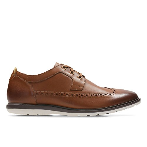 Clarks Shoes 26.133.905 Glaston Wing Brown Brown