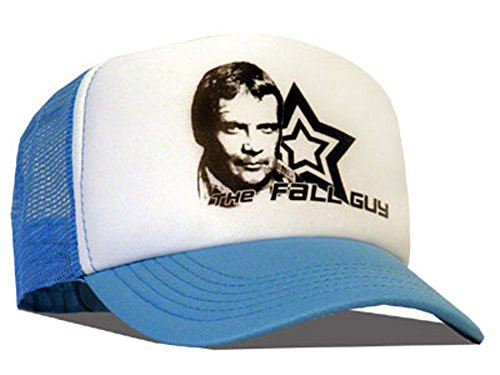 Raphia type Colt SEAVERS - The Fall Guy Casquette en maille Bleu