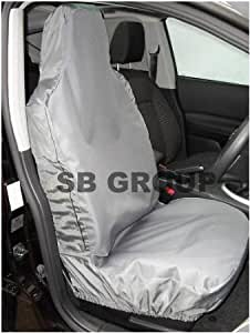 Subaru Legacy / Forester / Outback Car Seat Covers - Waterproof Grey - 2 Fronts Only