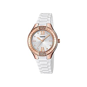 Calypso Reloj Análogo clásico para Mujer de Cuarzo con Correa en Plástico