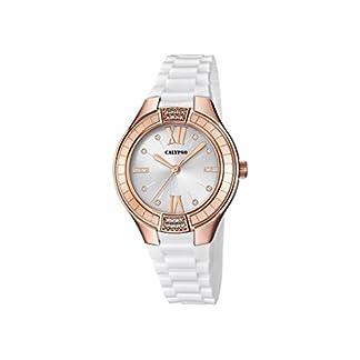 Calypso Reloj Análogo clásico para Mujer de Cuarzo con Correa en Plástico K5720/2
