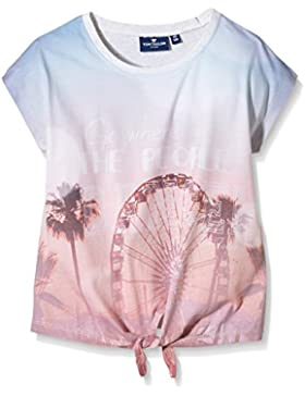 TOM TAILOR Kids Mädchen T-Shirt Knot Tee with Photo Print