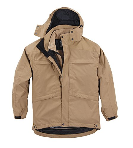 5.11 Tactical #48032 Aggressor Parka, Herren, Coyote Brown, Small Aggressor Parka