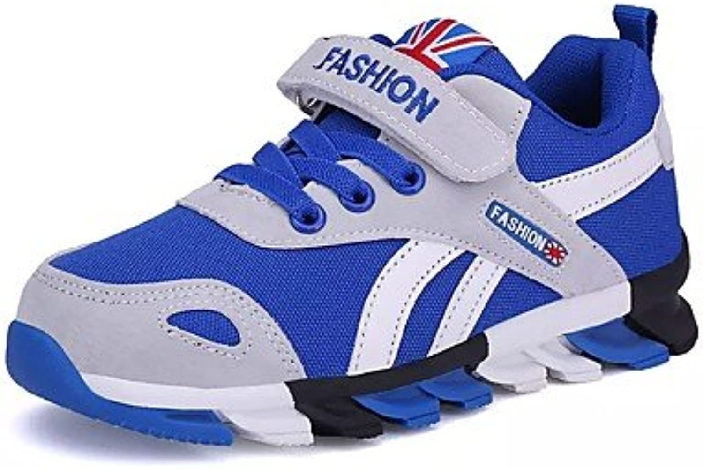 Aemember Muchachos 039; Zapatos de microfibra sintético PU primavera otoño luz suelas de zapatos zapatos atléticos  -