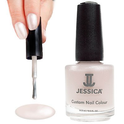 Jessica Nails Fairy Dust Light Pink Custom Colour Nail Polish/Varnish - 468