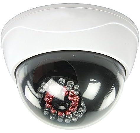 Dummy Kamera Fake Attrappe G5 IR Led Überwachungskamera Alarmanlage Videokamera