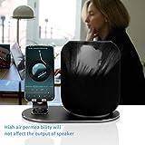 TianranRT★ Custodia protettiva contro il busto di protezione per l'ingresso per Apple HomePod Speaker,Nero