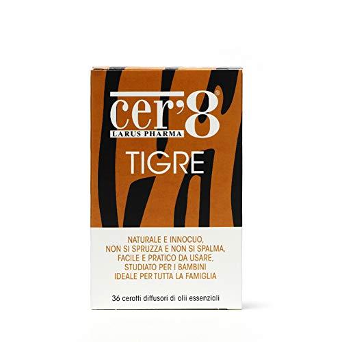 Cer8 tigre cusc adesivo 36pz