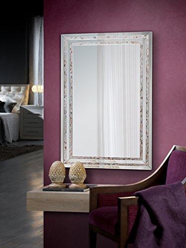 Specchio Grande Da Bagno.Schuller Specchio Moderno Di Vetro Madreperla Grande Ibergada