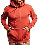 Leif Nelson Herren Hoodie Pullover mit Kapuze Oversize Kapuzenpullover für Männer Pulli Longsleeve Sweatshirt Kaputze Langarm LN8351