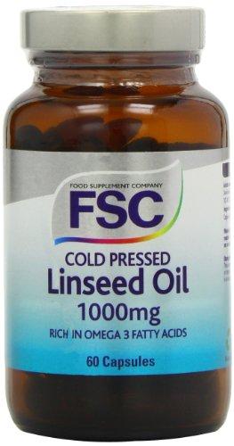 FSC Bio-Leinöl 1000mg 50 Kapseln (Bio-leinöl Kapseln)