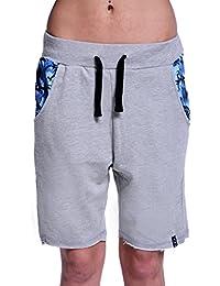 Short dANY cAMOSPLASH mAGIC bLUE pantalon de sport short short de jogging