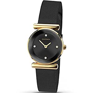 Sekonda Women's Analogue Quartz Watch with Stainless Steel Strap 2302.27