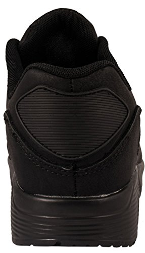 Sport Femmes et Hommes Chaussures rangers Chaussures de course profil semelle Baskets Schwarz Kanada