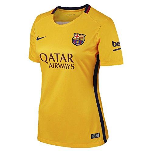 new concept d7709 58446 2015-2016 Barcelona Away Nike Ladies Shirt - Buy Online in ...