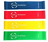 Body Revolution Resistance Loop Bands - Latex Material - Physiotherapy, Flexibility and Mobility - Various Sizes and Sets Available