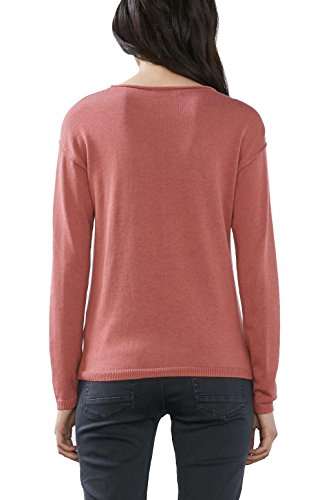 edc by ESPRIT Damen Pullover Rosa (Blush 665)