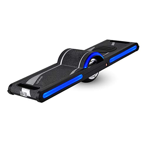 Surfwheel SU Elektrisches Einrad Skateboard Hoverboard 250W Brushless Hub Motor, Höchstgeschwindigkeit 18 km/h Smart Skateboard mit App Sicherheit Zertifiziert für Erwachsene