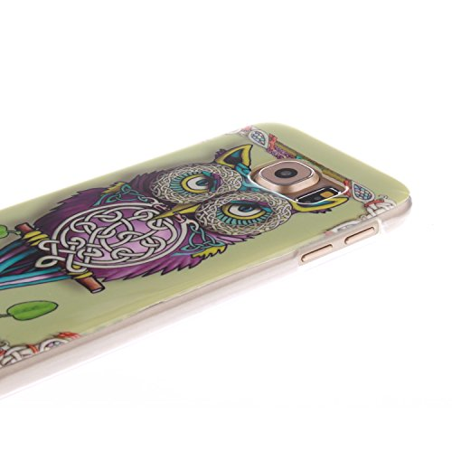 Nancen Samsung Galaxy S6 / G9200 (5,1 Zoll) Ultra Slim Weich TPU Material Design Silikon Handytasche Schutzhülle, Painted Mode Anti-Kratz Handyhülle Case Hülle Backcover Tasche