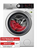 AEG L9FE86495 Frontlader Waschmaschine/Energieklasse A+++ (65 kWh/Jahr) / 9 kg/kein Verblassen/Waschmaschine mit Mengenautomatik, Knitterschutz und Ionentauscher/Waschautomat / weiß