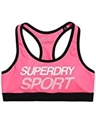 Brassière Superdry Sport Essential Graphic Pink