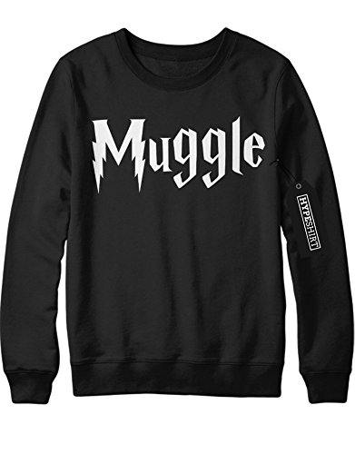 Sweatshirt Harry Potter Fanartikel Muggle Hogwarts C999948 Schwarz (Robe Hermine Granger)