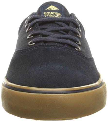 Emerica Provost Slim Vulc X Toy Machine, Herren Skateboardschuhe grey/black