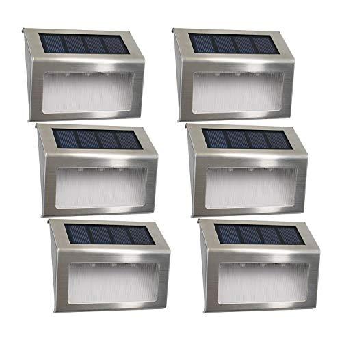 Solarleuchte Garten Solarlampen 3led Easternstar Sol