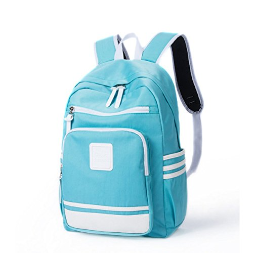 Laptop School Schulrucksack Teen Butterme Rucksack Rucksäcke Kinderrucksack Student Retro Himmelblau Rucksack Frauen Schulrucksäcke für Mädchen UqwXF4