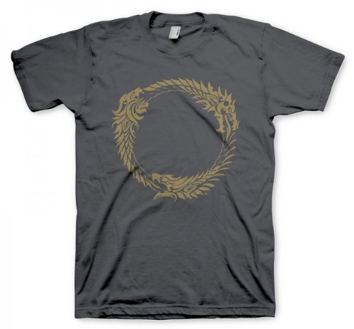 level-up-wear-herren-the-elder-scrolls-online-t-shirt-ouroboros-size-xxl