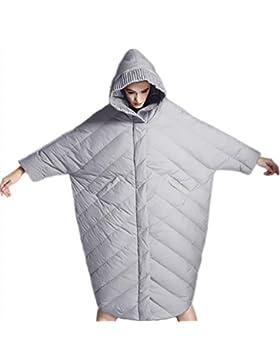 Las señoras de las señoras abajo de la chaqueta medio largo estilo outwear Engrosamiento de algodón abrigo con...