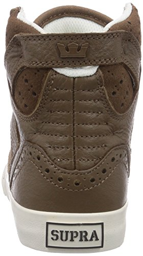 Supra WOMENS SKYTOP Damen Hohe Sneakers Braun (BROWN / BROGUE - BONE BRB)