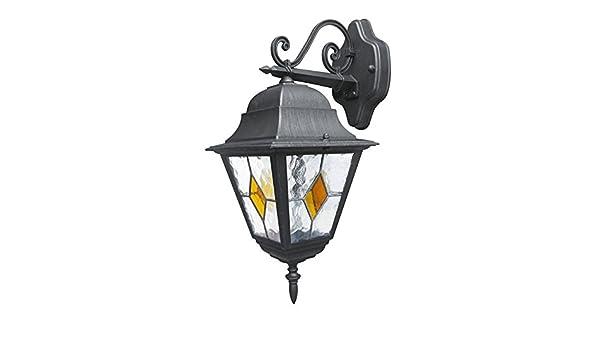 Lampada da parete applique pisa bassa alluminio pressofuso attacco