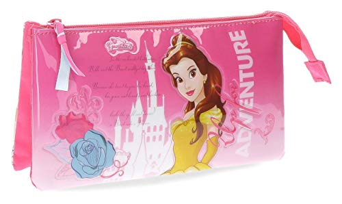 Disney-Trousse trois compartiments Belle Disney