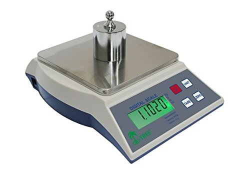 Precision Digital Milligram Scale Balance KHR 502 Ideal for Laboratory, Industrial, Gold and Jewellery Use, Accurate High Resolution Sensitive Weighing Scales with 0.01 Gram Resolution and 500 Gram Capacity, Portable for Ultimate Ease of Use in the Lab and the Field, the KHR 502 by Tree is the Perfect Combination of Quality and Accuracy for Professional, Scientific and other Analytical Needs.