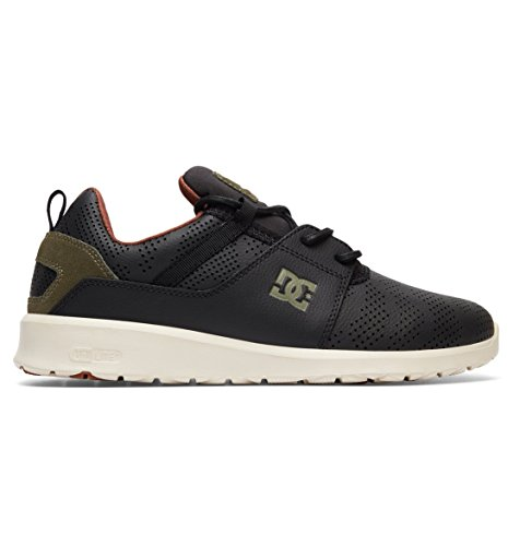 DC Shoes Heathrow Se, Sneakers Basse da bambino, nero (Noir - Black/