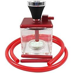 Crossdresser Hookah Traje de Pipa de Agua acrílico de Cintura pequeña con Tubos de Traje de Manguera,Red