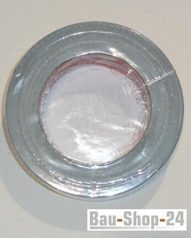 Gewebeband silber 50 mm. Steinklebeband