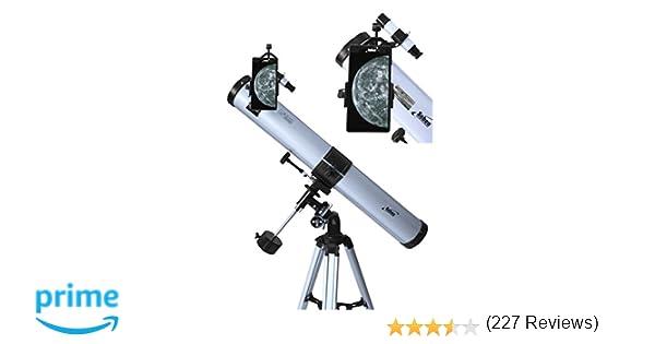 Seben télescope réflecteur eq adaptateur smartphone