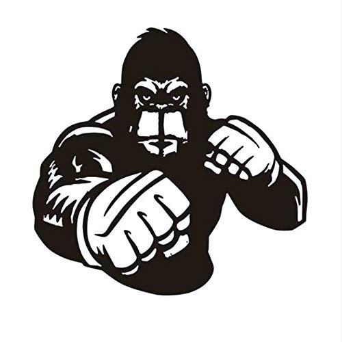 Hwhz 58X58 Cm Boxing Arm Handschuh Aufkleber Kick Boxer Spiel Auto Aufkleber Free Combat Poster Vinyl Stürmer WandtattoosDekor A