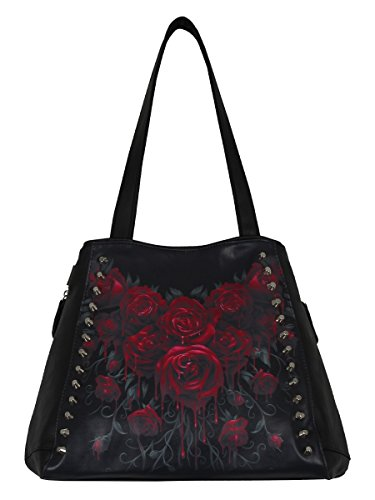 Bolso Spiral Direct Blood Rose (Negro)